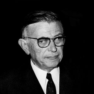 Jean Paul Sartre Strabismus